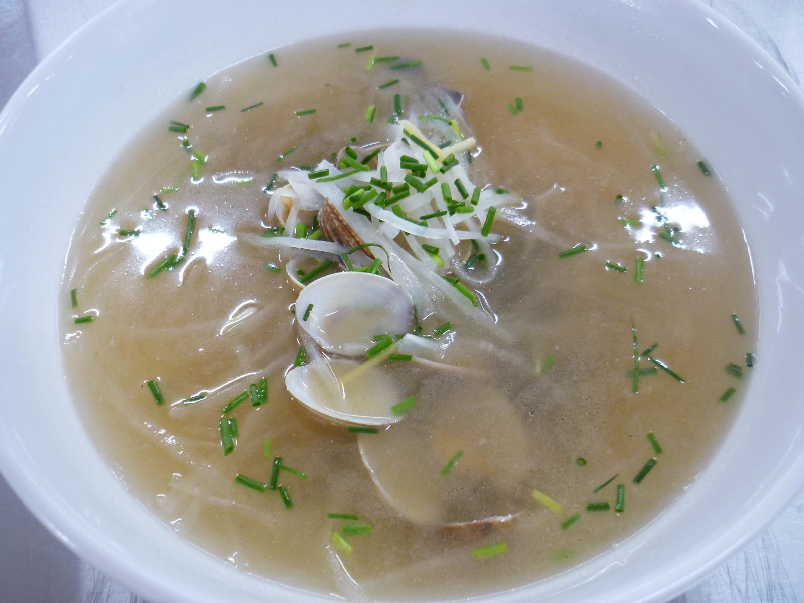 蘿匐蛤蜊湯