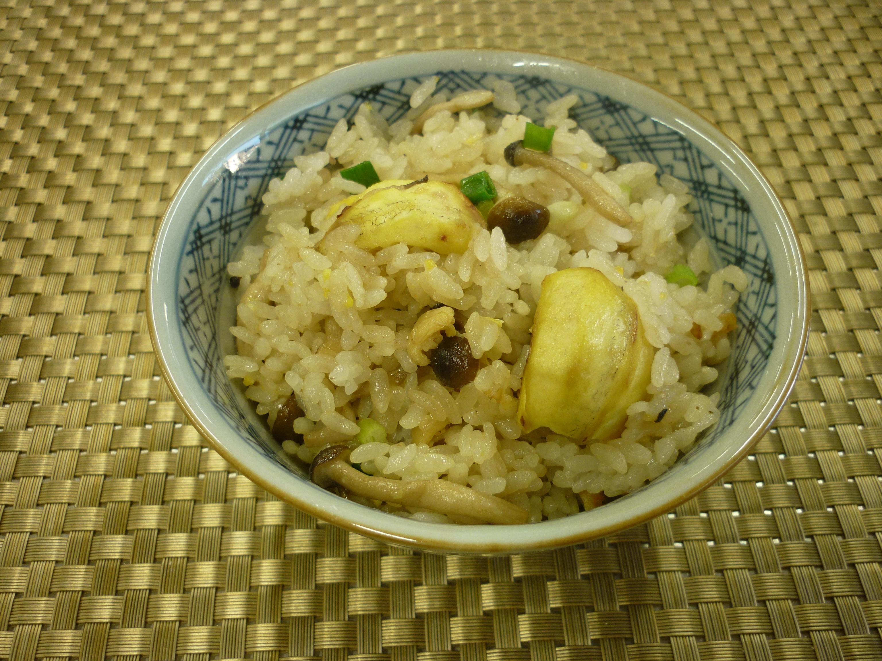 栗子煲飯(中国風炊き込みご飯)