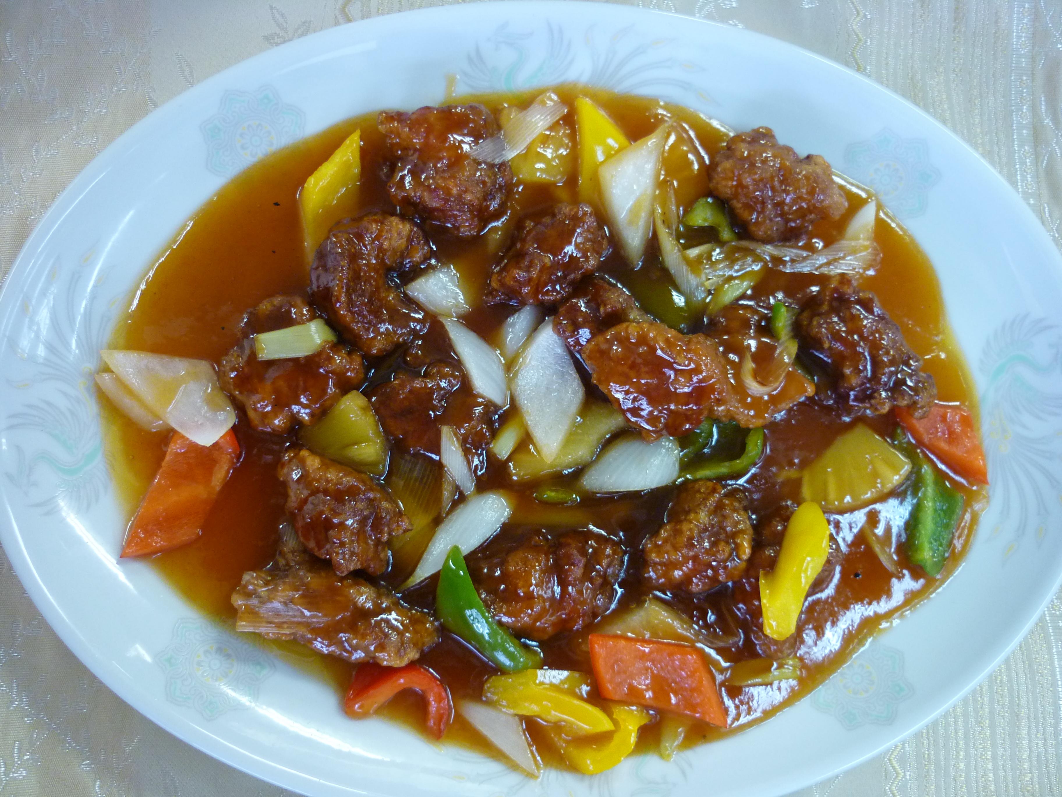 紅醋古老肉(酢豚)