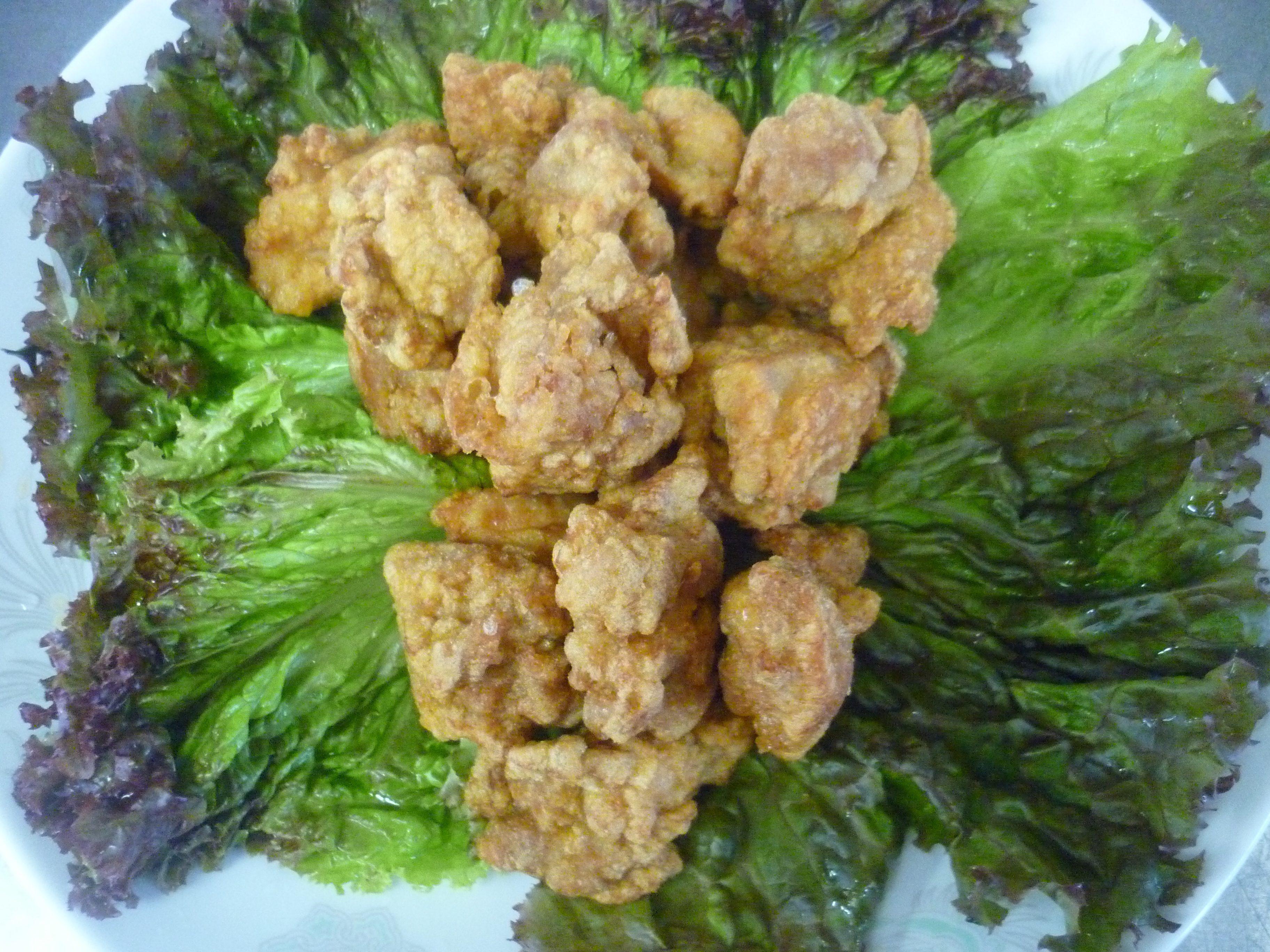 香酥啐炸鶏(鶏のからあげ)