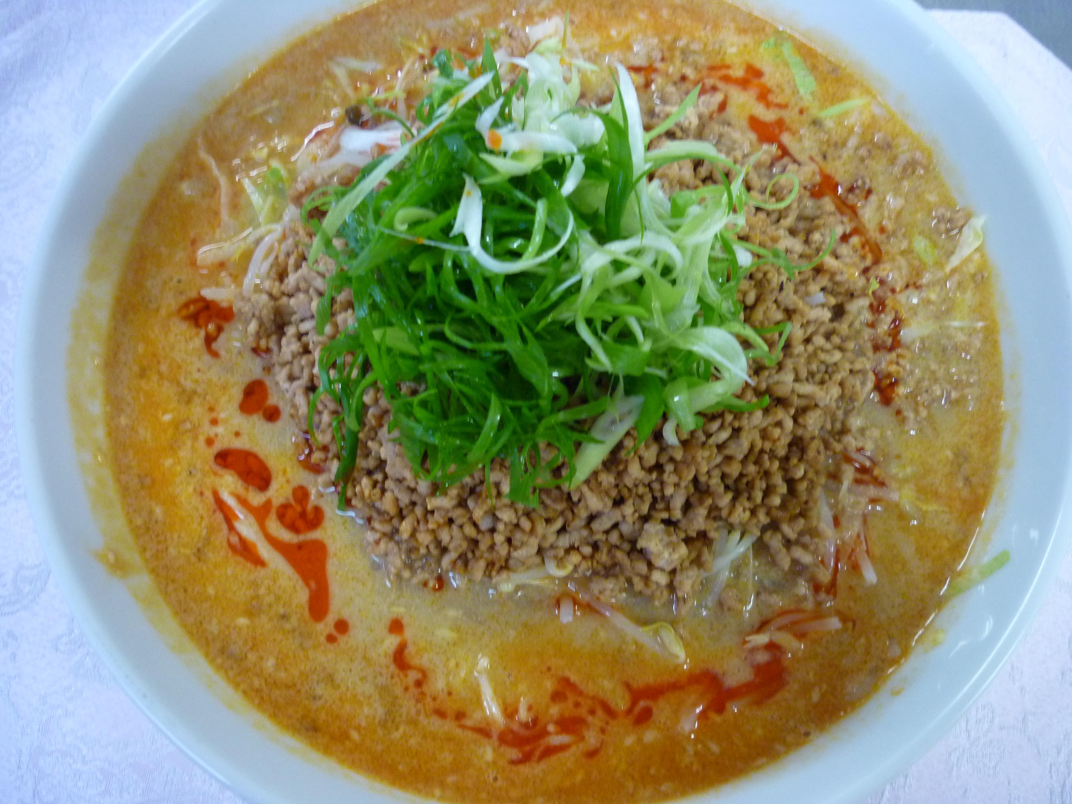 涼坦々麺(冷やし坦々麺)