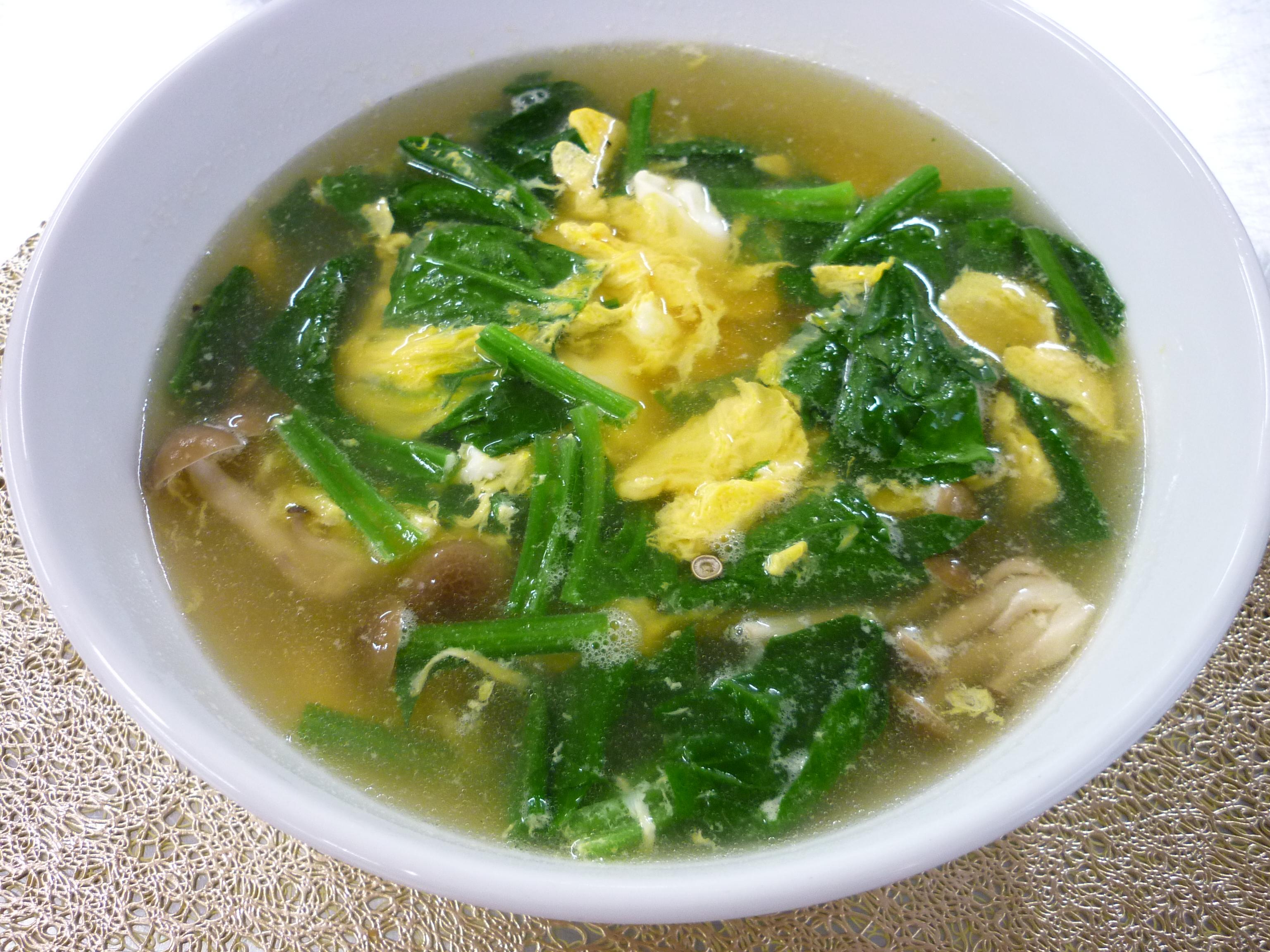 蛋花湯(たまごスープ)